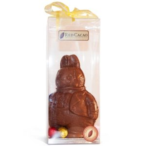 Chubby milk chocolate easter bunny