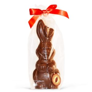 Large milk chocolate easter bunny