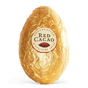 Large Easter milk chocolate egg