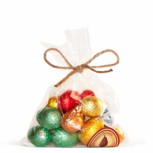 Small bag of mixed chocolate Easter eggs