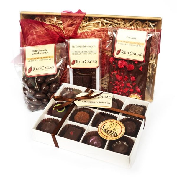 A selection of Red Cacao's favourite dark chocolates