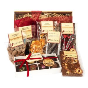 A large sized selection of Red Cacao favourite chocolates