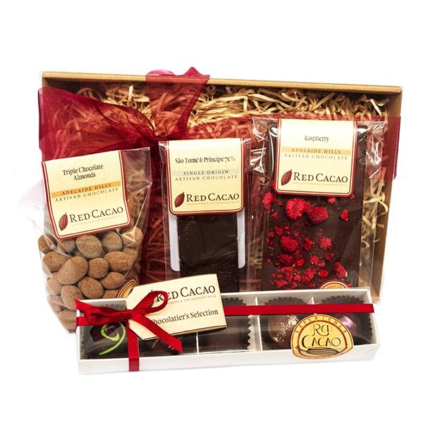 A small sized selection of Red Cacao favourite chocolates