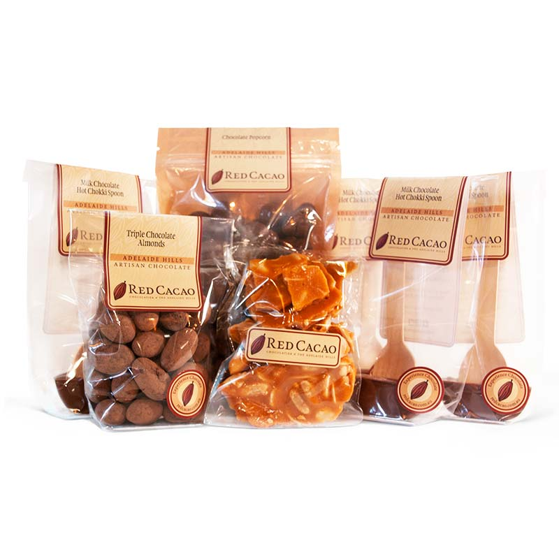A selection of chocolates featuring specially selected treats for the whole family