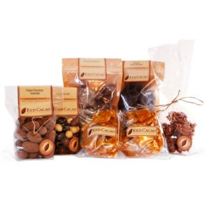 A large selection of chocolates specially selected to entertain