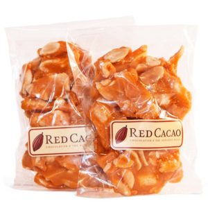 Two times peanut brittle packs